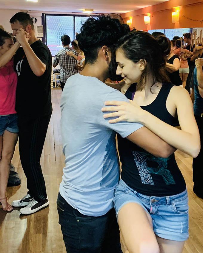 Tango Training Sesions